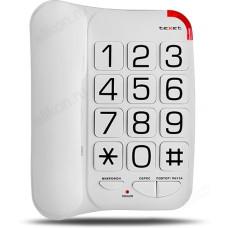 Телефон стационарный TEXET TX-201 белый