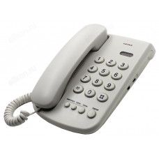 Телефон стационарный TEXET TX-241 светло-серый
