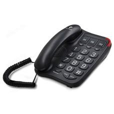 Телефон стационарный TEXET TX-214 чёрный