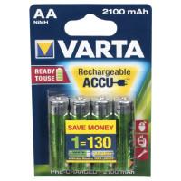 Аккумулятор АА 1,2V 2100mAh Ni-MH Varta 56706