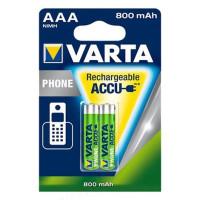 Аккумулятор AAA 1,5V 800mAh Ni-MH Varta