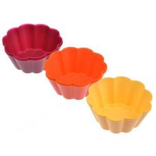 Форма для кексов силикон VETTA Ромашка 8шт 891-098 7*3см