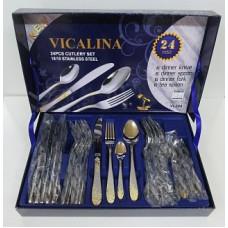 Набор столовых приборов VIKALINA VL-304 24шт