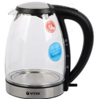 чайник стеклянный VITEK-7046 (1,7л) мета